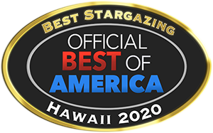 Best Stargazing, Hawaii 2020 award